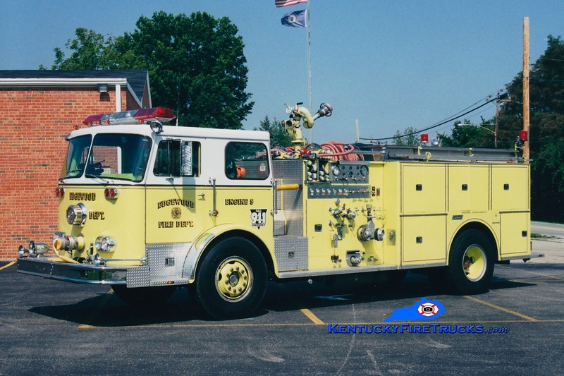 <center> RETIRED <br> Edgewood  Engine 5 <br> x-Southern Hills, KY <br> 1976 Seagrave/1984 Summit 1250/500  <br> Greg Stapleton photo </center>