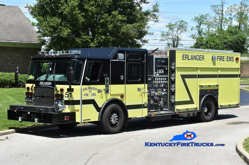 Erlanger  Engine 51<br /> 2019 E-One Typhoon 2000/530<br /> Greg Stapleton photo