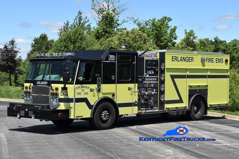 Erlanger  Engine 53<br /> 2019 E-One Typhoon 2000/530<br /> Greg Stapleton photo