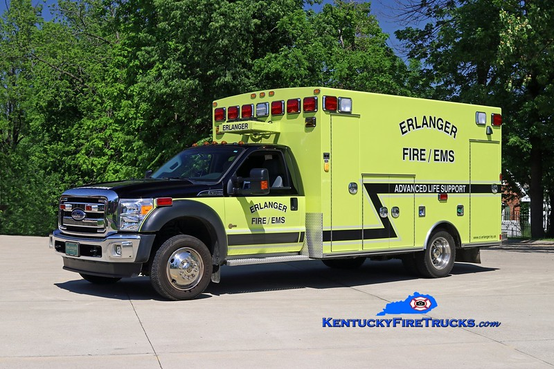 Erlanger  Squad 64<br /> 2015 Ford F-450/Braun<br /> Kent Parrish photo