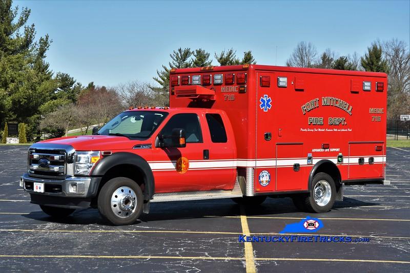 Fort Mitchell Medic 716<br /> 2016 Ford F-450 4x4/Horton<br /> Greg Stapleton photo