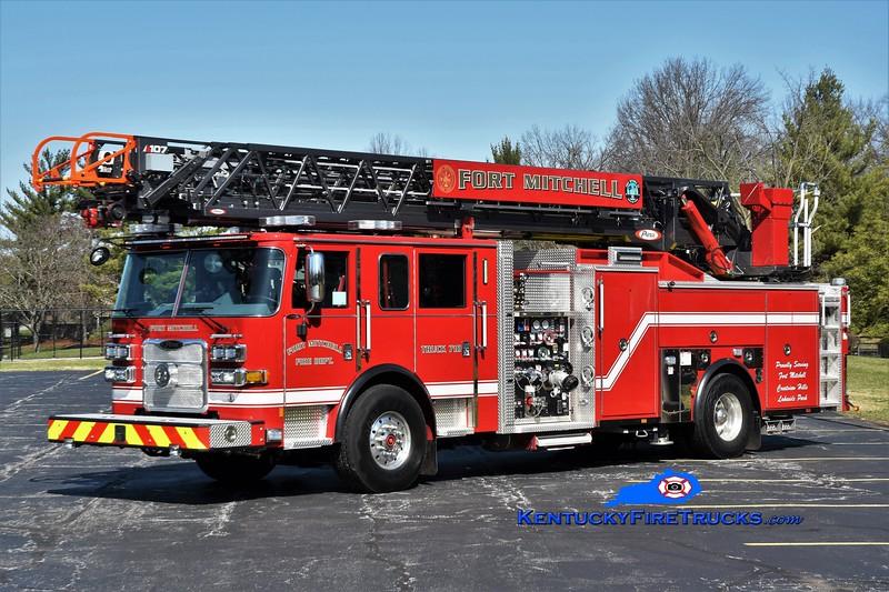 Fort Mitchell Truck 710<br /> 2020 Pierce Arrow XT 2000/470/30/107' <br /> Greg Stapleton photo