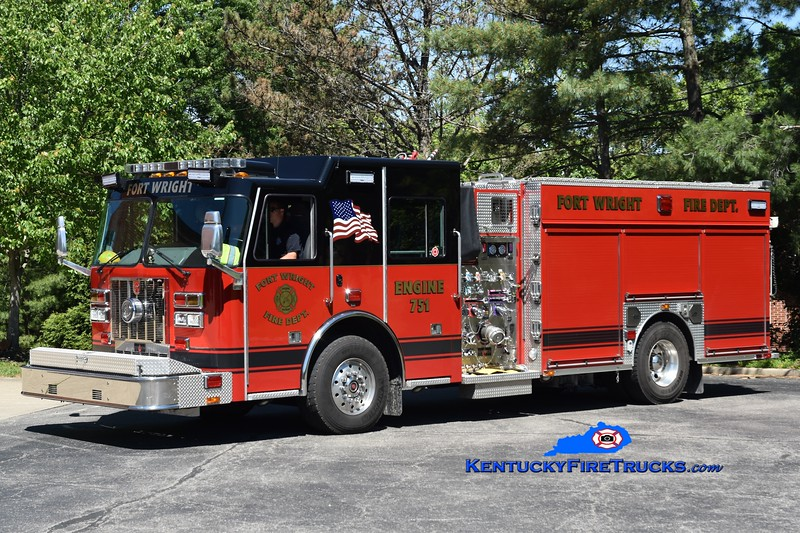 Fort Wright Engine 751<br /> x-Erlanger, KY<br /> 2012/2019 Sutphen Ambassador 1500/500/50<br /> Greg Stapleton photo
