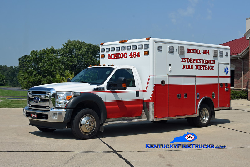 Independence  Medic 464<br /> 2016 Ford F-550 4x4/Horton <br /> Kent Parrish photo