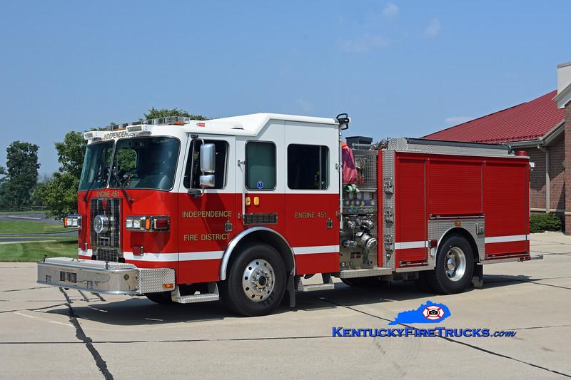 Independence Engine 451 <br /> 2007 Sutphen Shield 1500/750<br /> Kent Parrish photo
