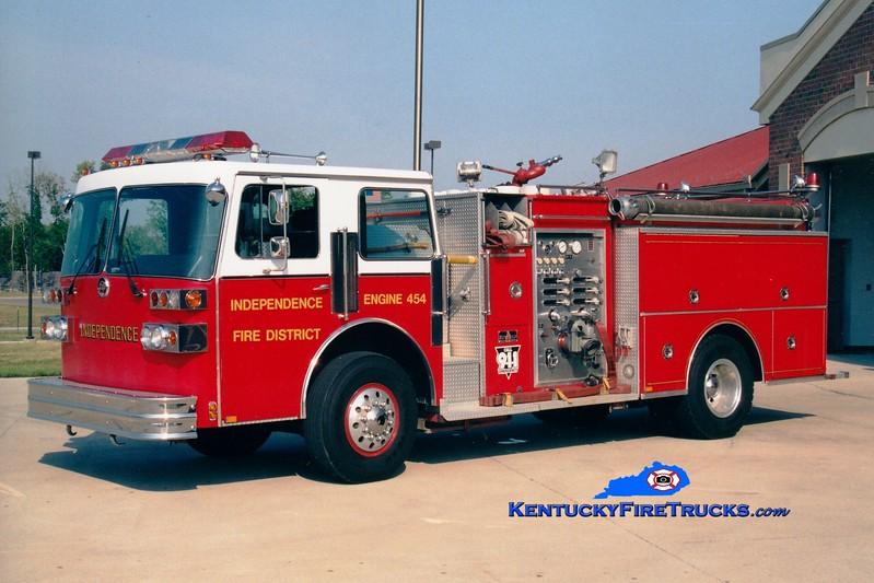 <center> RETIRED <br> Independence Engine 454 <br> 1988 Sutphen Deluge 1500/750 <br> Greg Stapleton photo </center>