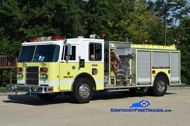Kenton County Fire Chief's Association Reserve Engine <br /> x-Edgewood, KY<br /> 1993 Pierce Dash 1250/750<br /> Greg Stapleton photo