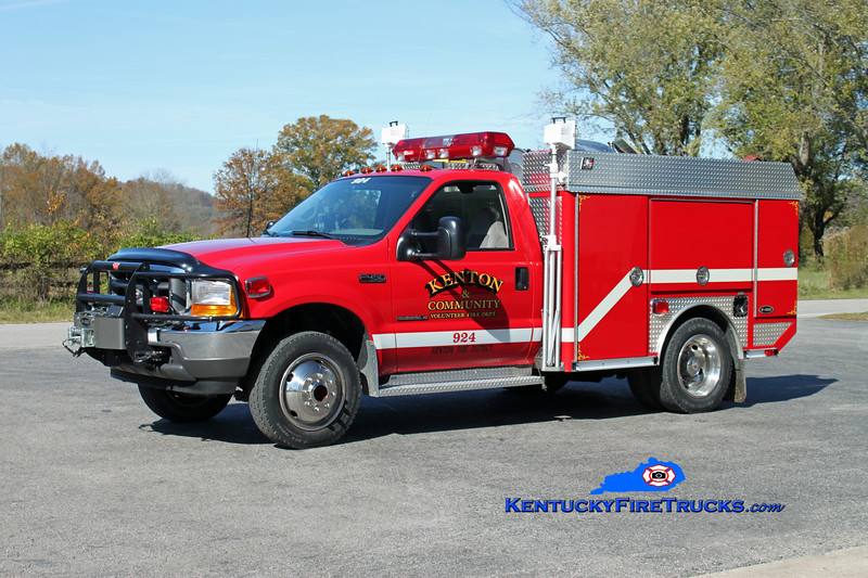 Kenton  Rescue/Brush 924<br /> 2000 Ford F-450 4x4/E-One (Superior) 85/300<br /> Kent Parrish photo