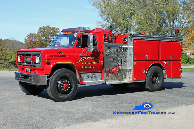 Kenton  Engine 902<br /> 1988 GMC 7000/FMC 1000/750<br /> Kent Parrish photo