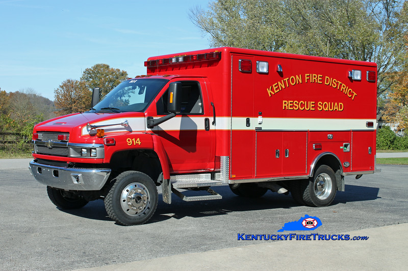 Kenton  Squad 914<br /> 2008 GMC 5500 4x4/Horton<br /> Kent Parrish photo