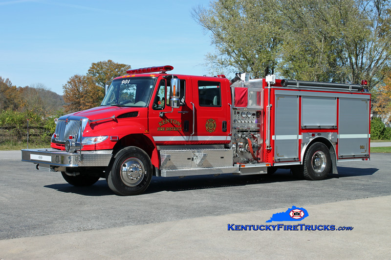 Kenton  Engine 901<br /> 2007 International 4400/E-One 1250/1000<br /> Kent Parrish photo