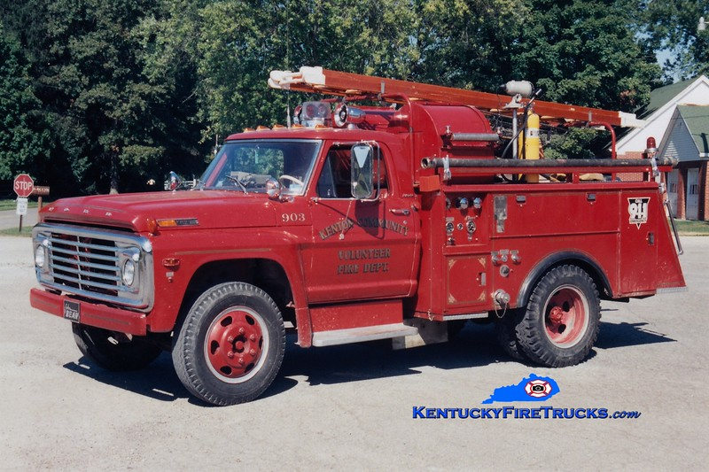 RETIRED<br /> Kenton Engine 903 <br /> 1969 Ford F-600/Stahl/Bean 250/250<br /> Greg Stapleton photo