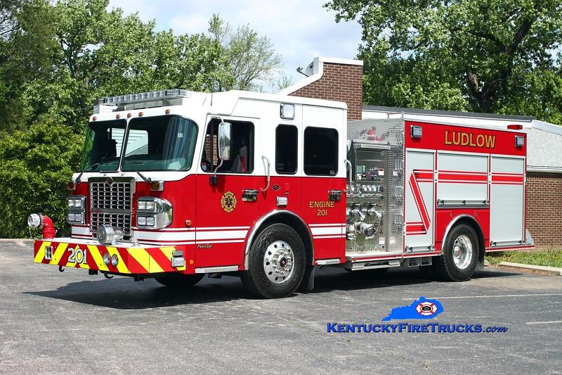 <center> Ludlow  Engine 201 <br> 2012 Spartan Metro Star ERV 1750/750/40  <br> Kent Parrish photo </center>