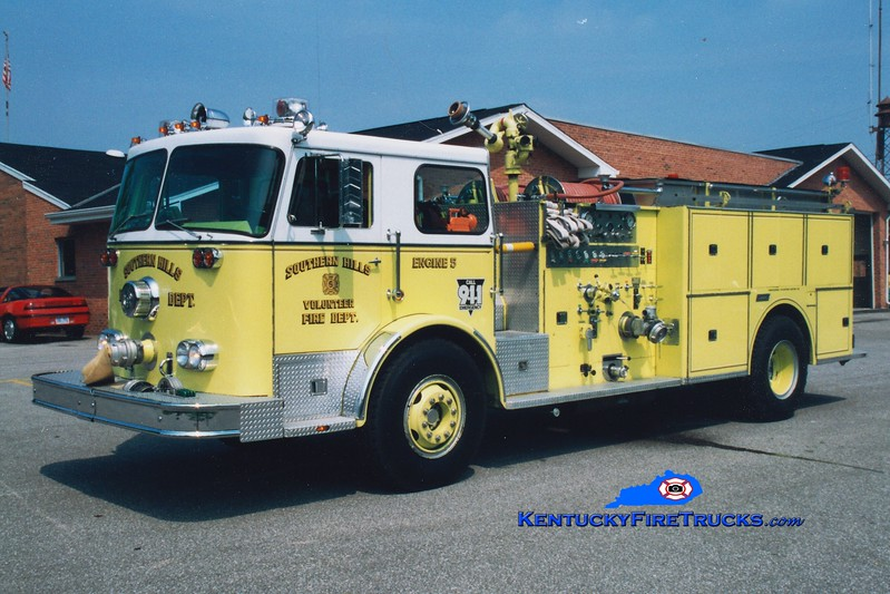 RETIRED <br /> Southern Hills  Engine 5<br /> 1976 Seagrave PB/1984 Summit 1250/500<br /> Greg Stapleton photo