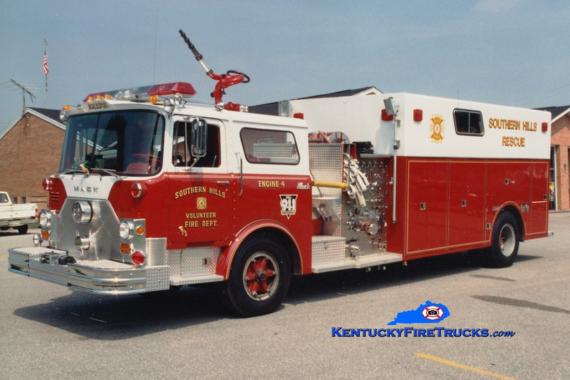 RETIRED <br /> Southern Hills  Engine 4<br /> x-FDNY<br /> 1975 Mack CF/1985 Summit 1000/350<br /> Greg Stapleton
