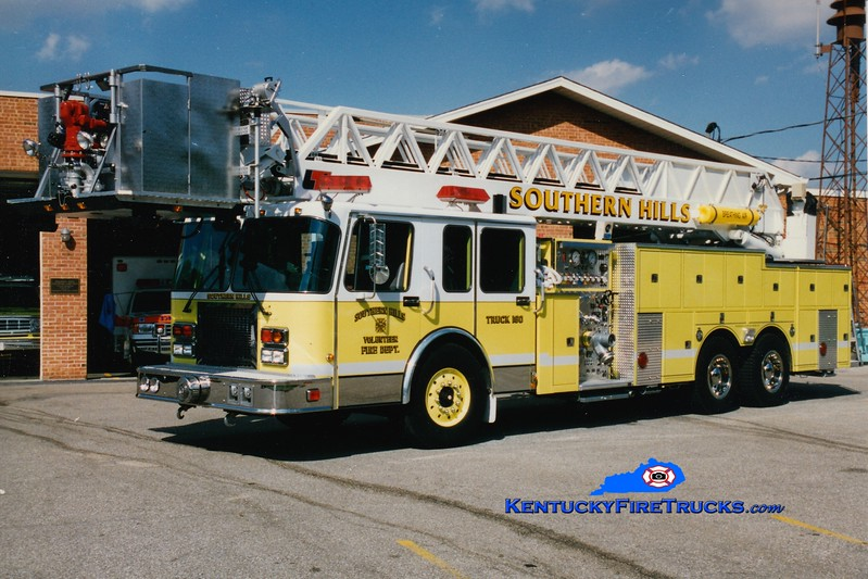 RETIRED <br /> Southern Hills  Truck 160<br /> 1995 Spartan/1985 Summit/1978 FTI-LTI 1250/300/85' <br /> Greg Stapleton photo
