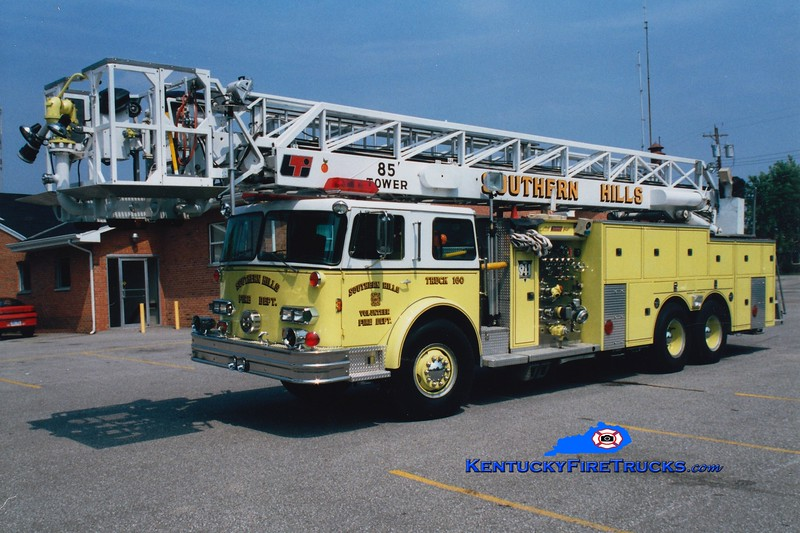 <center> RETIRED <br> Southern Hills Truck 160 <br> x-Miami Dade County, FL <br> 1978 Pemfab/FTI/LTI/1985 Summit 1250/300/85'  <br> Greg Stapleton photo </center>