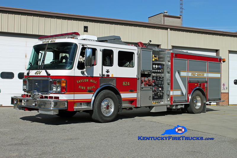 Taylor Mill  Engine 824<br /> 2005 American LaFrance Eagle 1500/750/10<br /> Kent Parrish photo