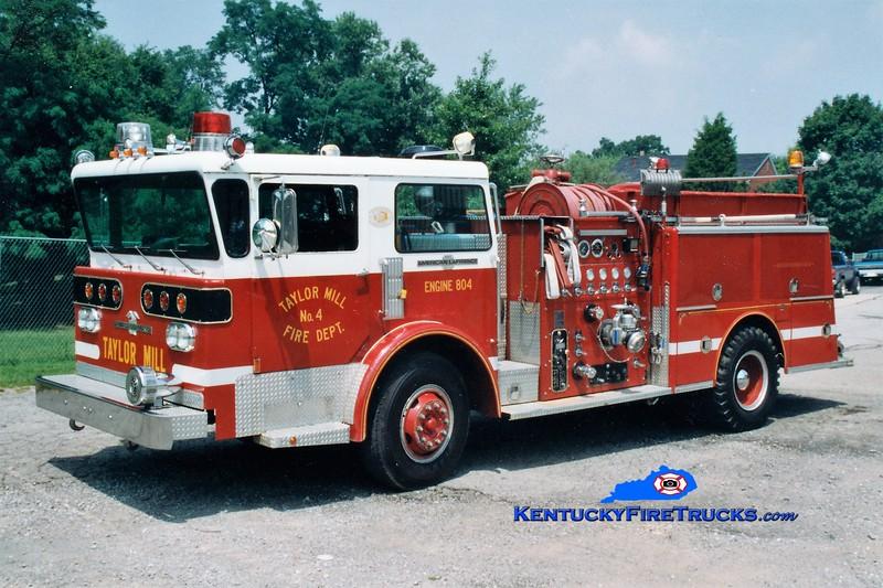 RETIRED <br /> Taylor Mill  Engine 804<br /> x-Bellvue, TN<br /> 1977 American LaFrance Pioneer III 1250/750<br /> Greg Stapleton photo