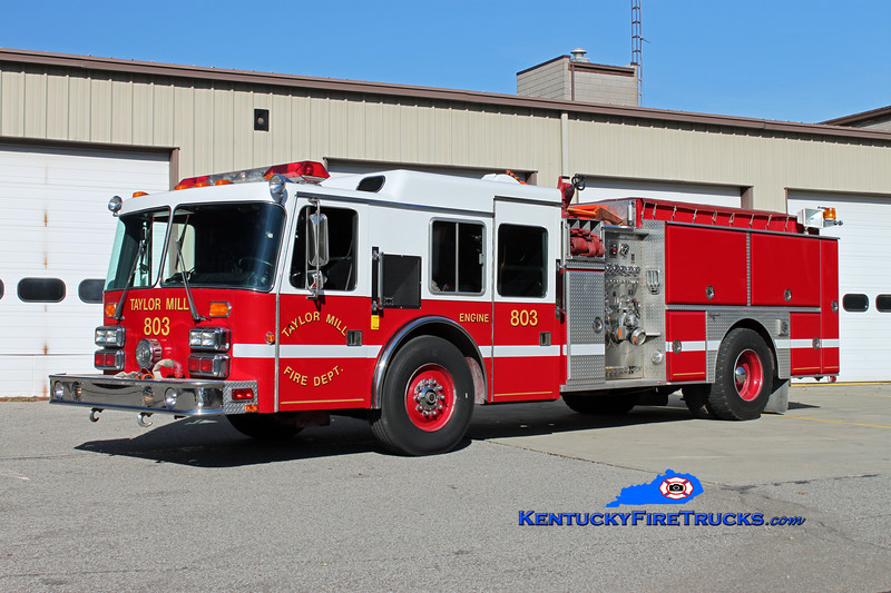 RETIRED<br /> Taylor Mill  Engine 803<br /> 1992 HME/Grumman Panther 1500/750<br /> Kent Parrish photo
