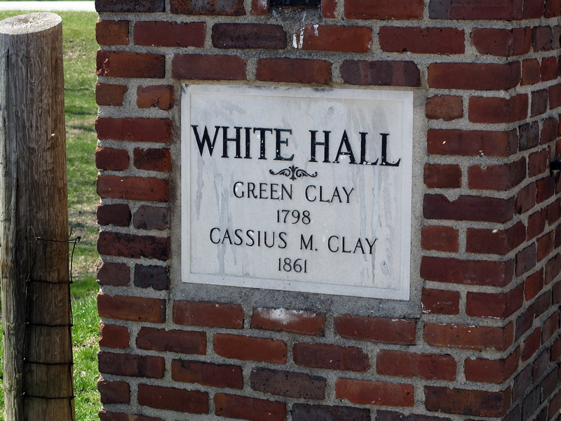 Entrance to White Hall Kentucky