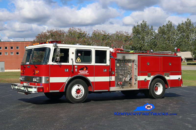 Kentucky Fire Commission State Fire Rescue Training Area 4 Pumper<br /> x-Bowling Green, KY<br /> 1988 Pierce Arrow 1500/500<br /> Kent Parrish photo