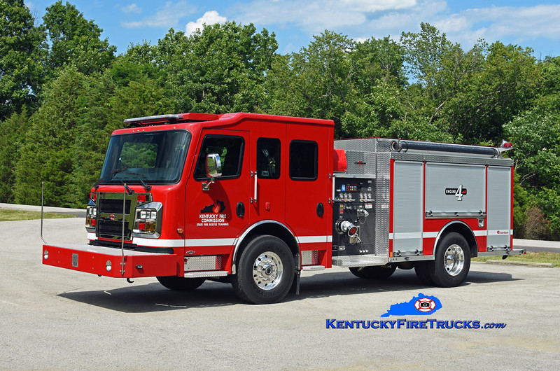 Kentucky Fire Commission State Fire Rescue Training Engine 4<br /> 2019 Rosenbauer Warrior 1250/1000<br /> Kent Parrish