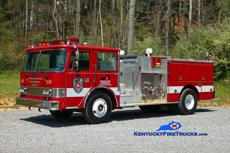 Kentucky Fire Commission State Fire Rescue Training NRPC Pumper<br /> x-Owensboro, KY<br /> 1987 Pierce Arrow 1250/500<br /> Kent Parrish photo