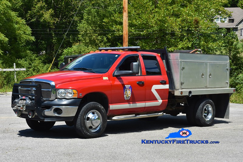 Ball Creek  Engine 801<br /> 2010 Dodge Ram 4x4/Wynn 250/250<br /> Greg Stapleton photo