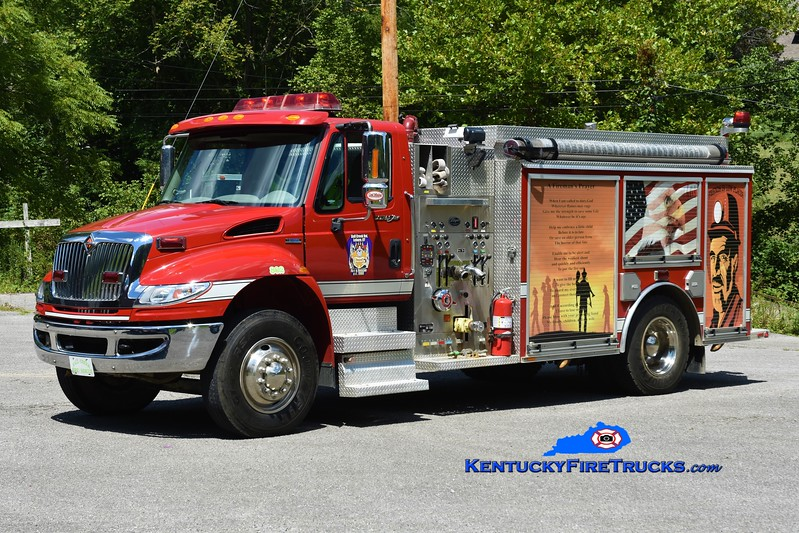 Ball Creek  Engine 802<br /> 2007 International 4400/Wynn 1250/1250<br /> Greg Stapleton photo