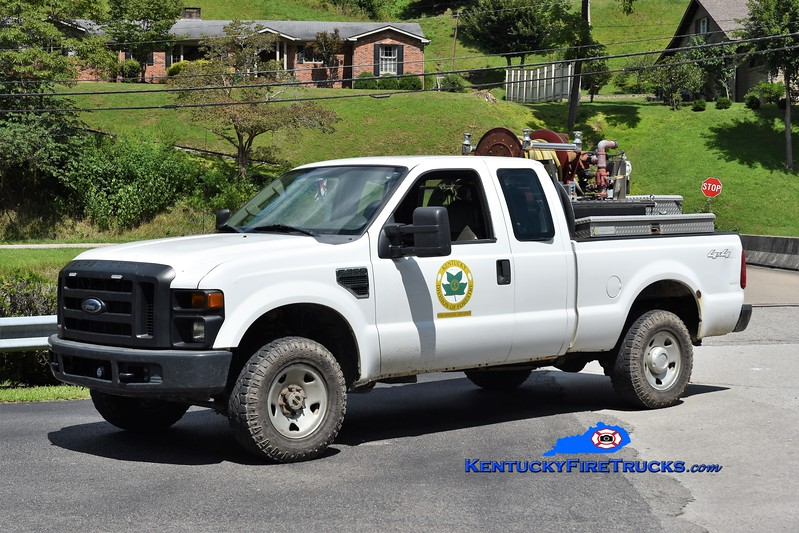 Kentucky Division of Forestry - Knott County<br /> 2008 Ford F-350 4x4/KDF 250/250<br /> Greg Stapleton photo