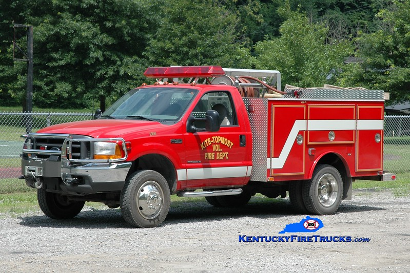 <center> Kite-Topmost  Rescue 1500 <br> 1999 Ford F-450 4x4/Fouts Bros 250/250 <br> Greg Stapleton photo </center>