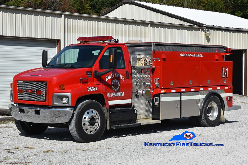 Bailey Switch  Engine 1<br /> 2007 GMC 7000/Goodhope 1250/1900<br /> Greg Stapleton photo