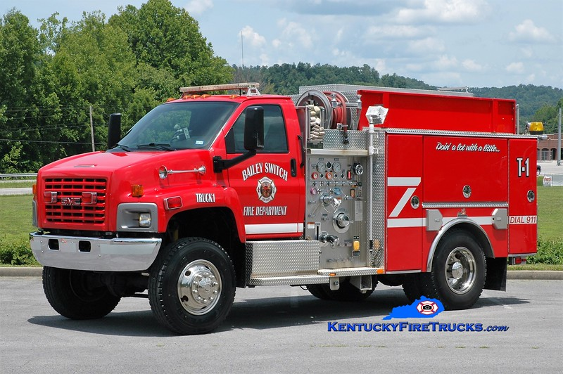 Bailey Switch  Truck 1<br /> 2005 GMC 8500 4x4/Ferrara 500/750<br /> Greg Stapleton photo