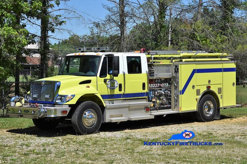 West Knox Pumper 4<br /> x-Gainesville, VA <br /> 2005 International 4400/Pierce 1250/750/40<br /> Greg Stapleton photo