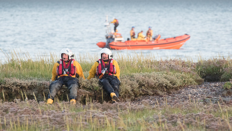 04 Joint Excercise with Lymington Coastguard, Lymington RNLI and the Fire Service