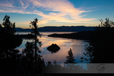 Early Morning Light at Emerald Bay Lake Tahoe
