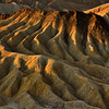 The Manifold: Zabriskie Point at Dawn, Death Valley National Park, California, USA - October 2009