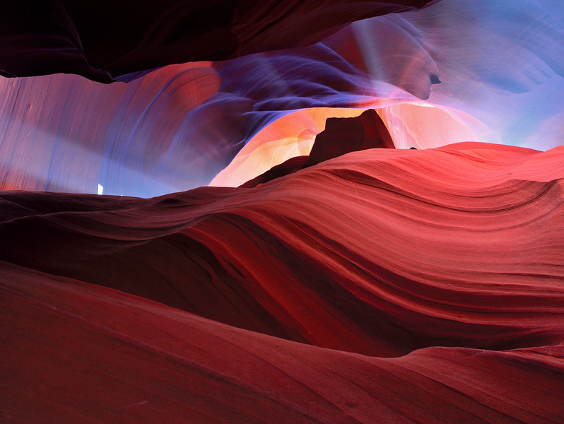 Upper Antelope Canyon, near Page, Arizona - July 2011