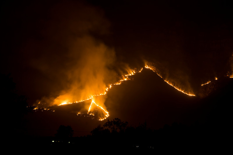 Stellenbosch Mountain Fire March 2015