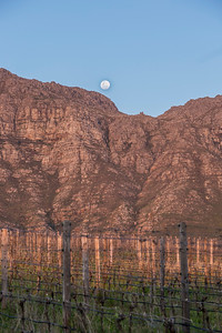 Mountain with Moonrise