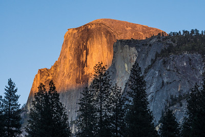 Half Dome Sunsets