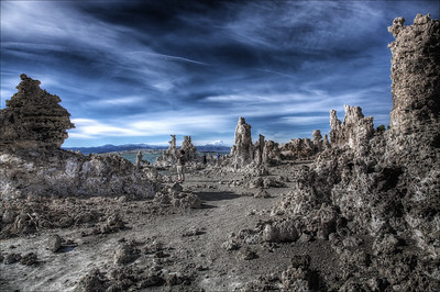 Mono Lake is a large, shallow saline soda lake in Mono County, California.