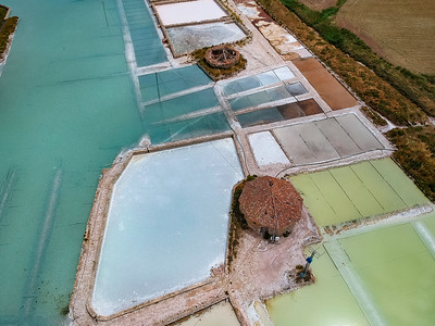 Abandoned salines in Imon - Spain
