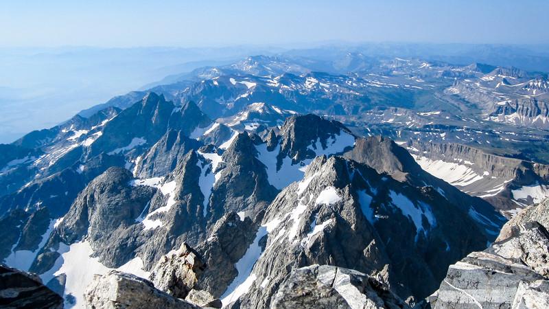 Grand Teton Summit Views