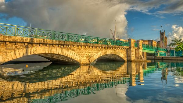 Chamberland Bridge Reflection