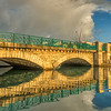 Chamberland Bridge Reflection
