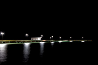 The Pier at Night
