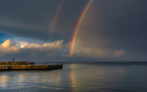 Fishing for Rainbow crevalle.