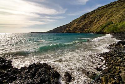 """""""Manini Beach""""  Kealakekua, Big Island Hawaii."""
